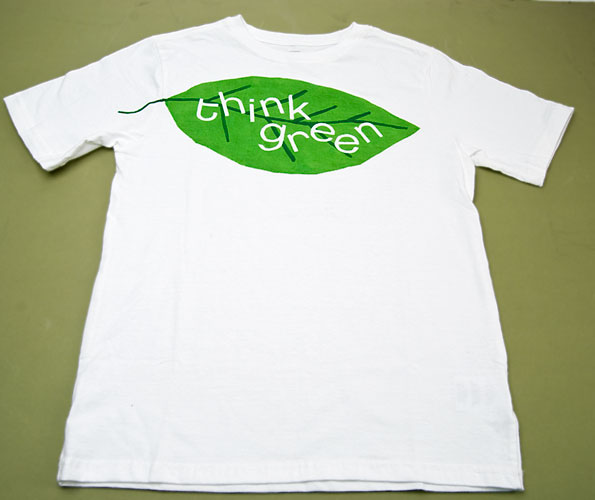 nvironmentally friendly choice of t-shirt with print